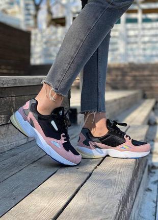 Adidas falcon pink кроссовки адидас наложенный платёж купить