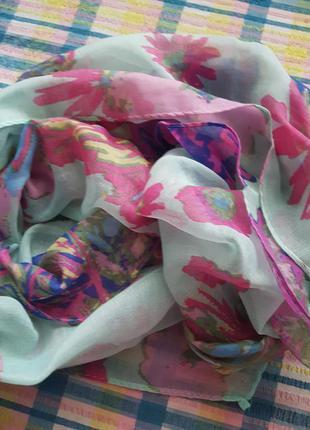 Нежный хлопковый шарф