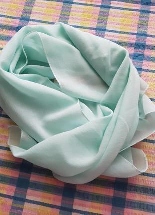 Бирюзовый платок