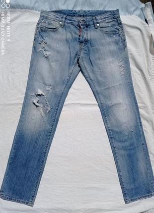 Dsquared2 джинсы р. 48. оригинал. canada.