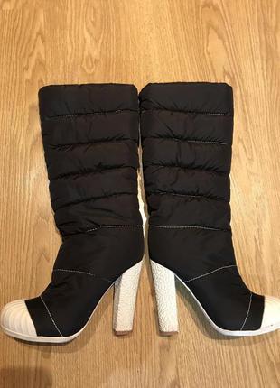 Зимние сапоги-бутики
