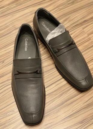 Мужские туфли calvin klein новые кожа