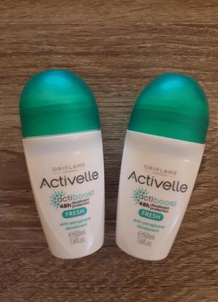 Шариковый дезодорант-антиперспирант с освежающим эффектом activelle