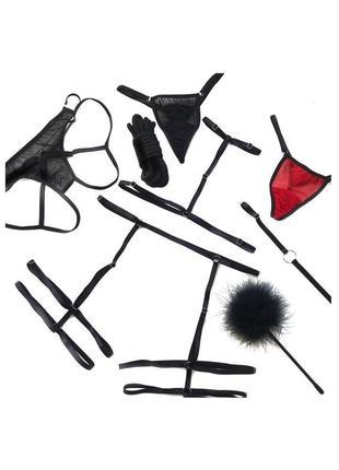 Портупея, контурное белье, гартеры, стрепы, чокер, подвязки