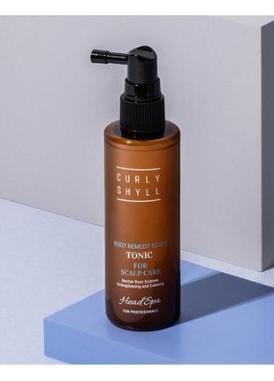 Curly shyll, tonic for scalp care. тоник от выпадения волос.