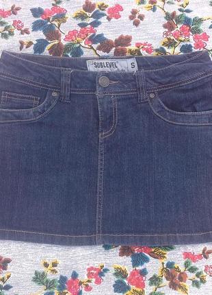 Юбка sublevel джинсовая