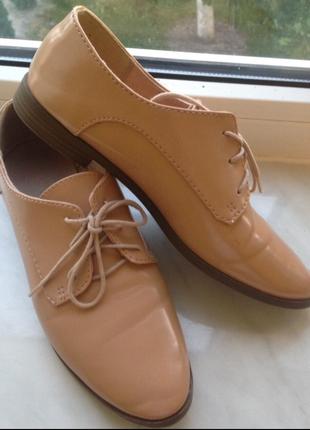 Лаковые туфли old navy