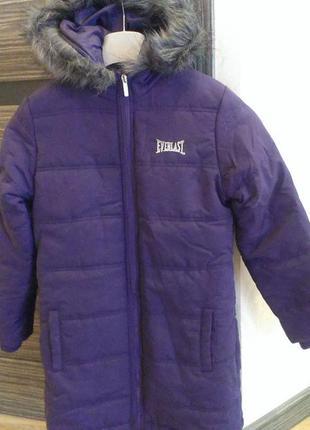 Пальто 9-10лет