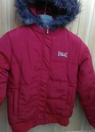 Куртка-бомпер  деми 8-10лет