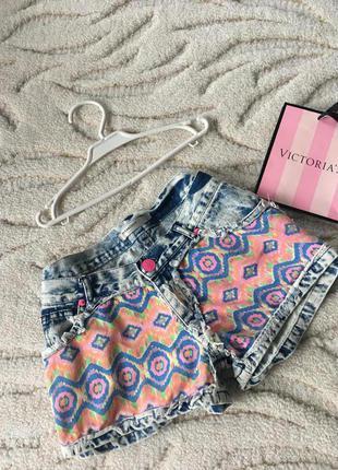 Клевые джинсовые шорты vera&lucy