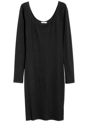 Приталённое платье - футляр h&m ( 48-52 р ) турция