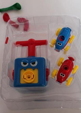 Игровой набор аэромобиль balloon car реактивная машинка с шариком