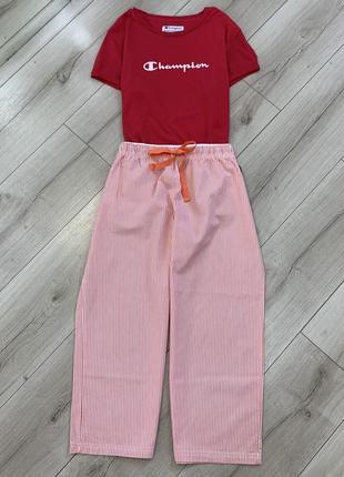 Хлопковые штаны бриджи италия 🇮🇹