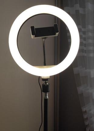 Кольцевая лампа селфи для лешмейкера