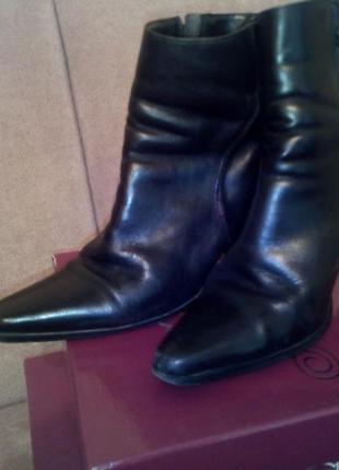 Ботинки кожа 100%