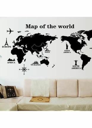 Мапа мира😍🌊 скретч карта, декор стены, карта мира, map of the world, наклейки на стену6 фото
