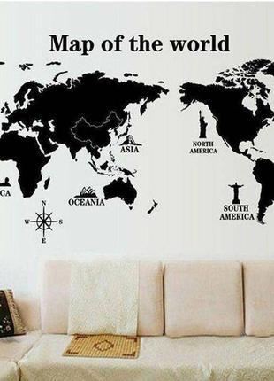 Мапа мира😍🌊 скретч карта, декор стены, карта мира, map of the world, наклейки на стену
