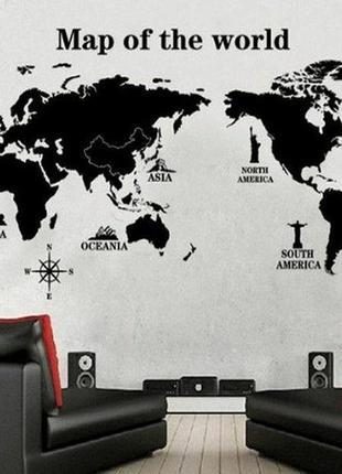 Мапа мира😍🌊 скретч карта, декор стены, карта мира, map of the world, наклейки на стену5 фото