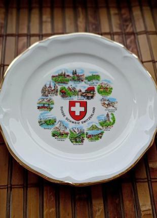 Тарелка из швейцарии
