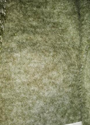 Теплая вязаная флисовая кофта на мальчика kiki&koko5 фото