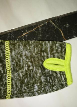 Теплая вязаная флисовая кофта на мальчика kiki&koko4 фото