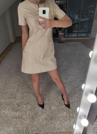 Шкіряне плаття