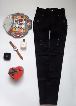 ❤ розпродаж ❤ чорні ефектні котонові штанішки big mantis