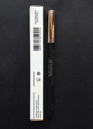 Стойкий контурный карандаш natasha moor kohl it magic black eyeliner подводка4 фото