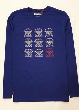 Mountain warehouse англия мужская футболка длинный рукав реглан лонгслив пог 50 см