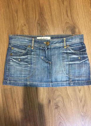 Короткая базовая юбка!