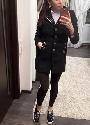 Пальто на весну р.xs короткое