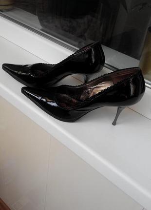 Туфли кожаные класика1 фото