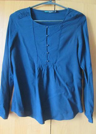 Темно-синяя блуза befree