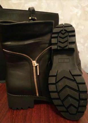 Сапоги ботинки деми