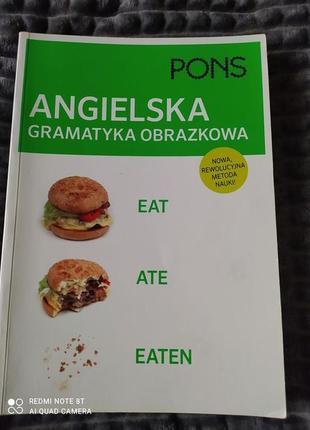 "Книга "" angielska gramatyka obrazkowa"""