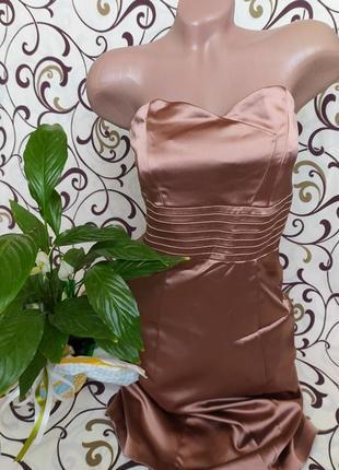Платье, сарафан из искусственного шелка