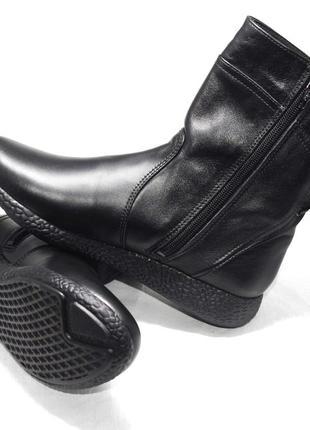 Полусапожки женские демисезон (мод. 124). кожаная женская обувь