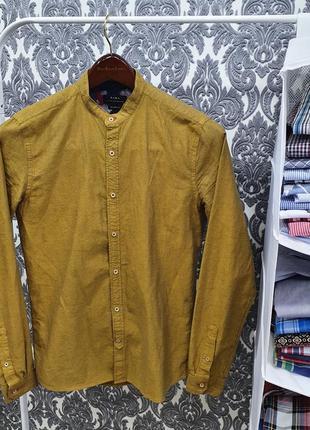 Zara man. рубашка мужская. оригинал