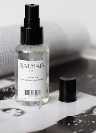Несмываемый кондиционер для волос balmain 50ml