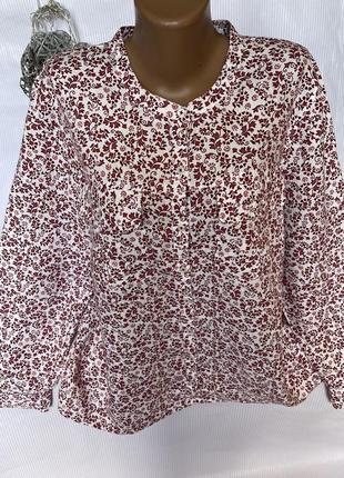 Шикарная рубашка 100% лен