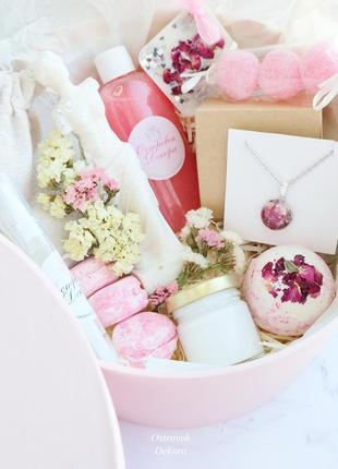 """Набір """" афродита rose"""" подарунок дівчині, подрузі, дружині, мамі, на день народження"""