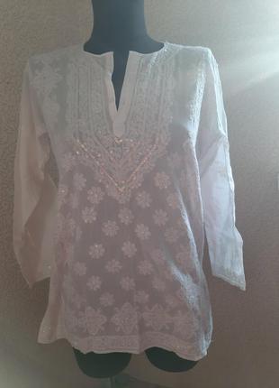 Блуза в восточном стиле индийский стиль