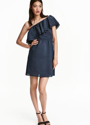 Новое платье на одно плечо h&m