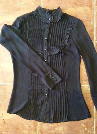 Шифоновая блуза от reserved