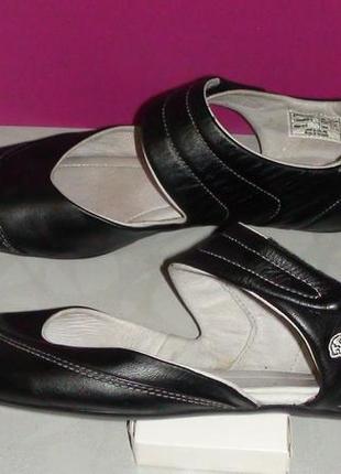 Lacoste - кожаные туфли, балетки, мокассины, слипоны, лоферы