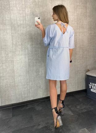 Платье на пуговицах (все расцветки)2 фото