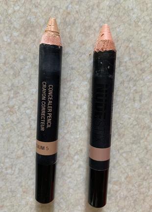 Набір, комплект коректор олівець, коректор карандаш, консилер-карандаш.