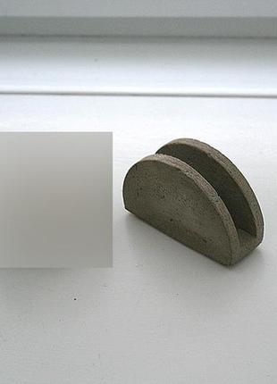 Салфетница из бетона. бетон. бетонная. серая.