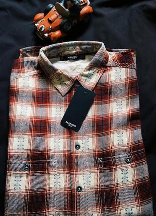 Сорочка mango, рубашка