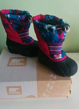 Детские ботинки sorel